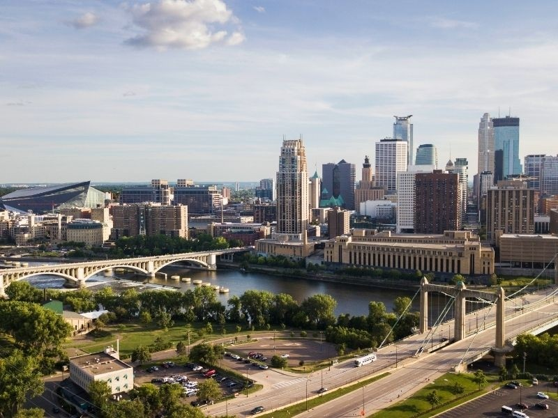 Minnesota Private Jet and Air Charter Flights