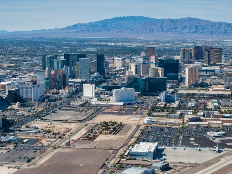 Nevada Private Jet and Air Charter Flights