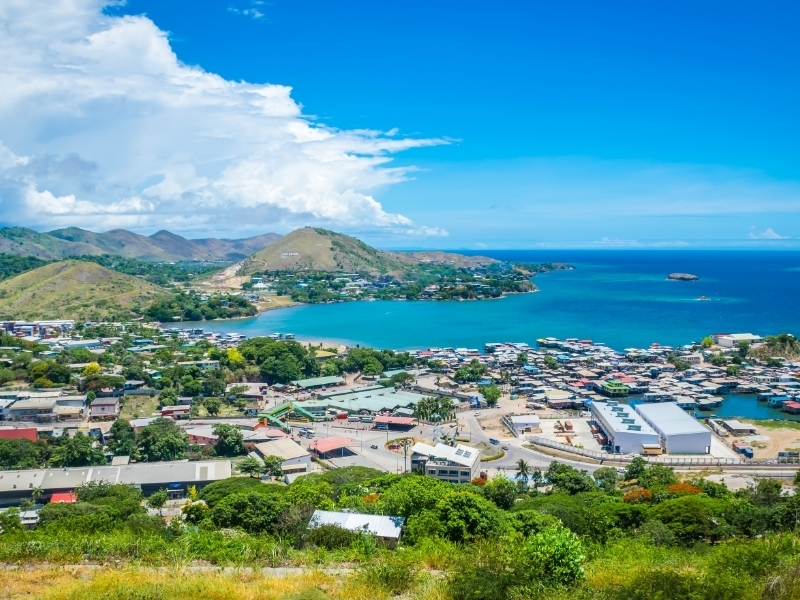 Port Moresby Private Jet and Air Charter Flights