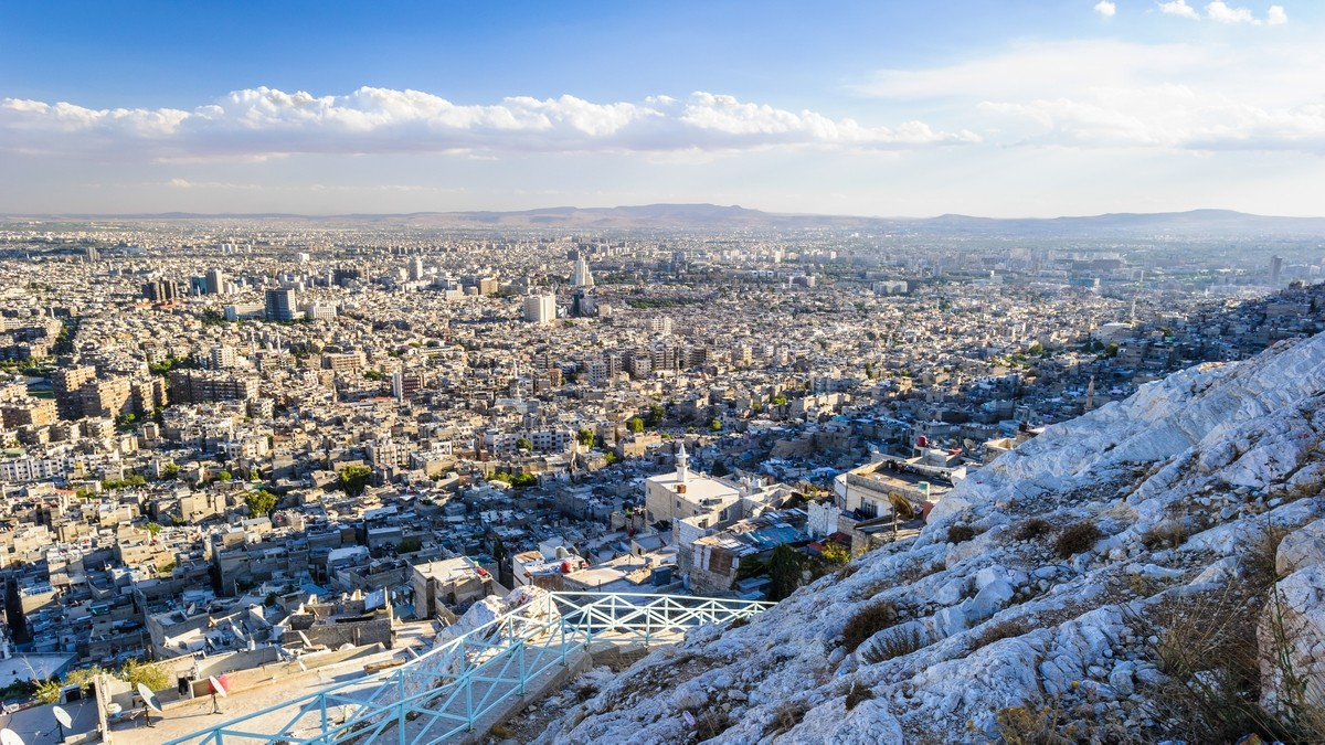 Damascus Private Jet and Air Charter Flights