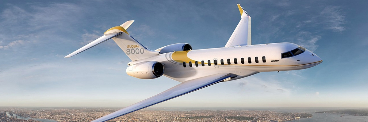 Challenger 604 corporate aircraft