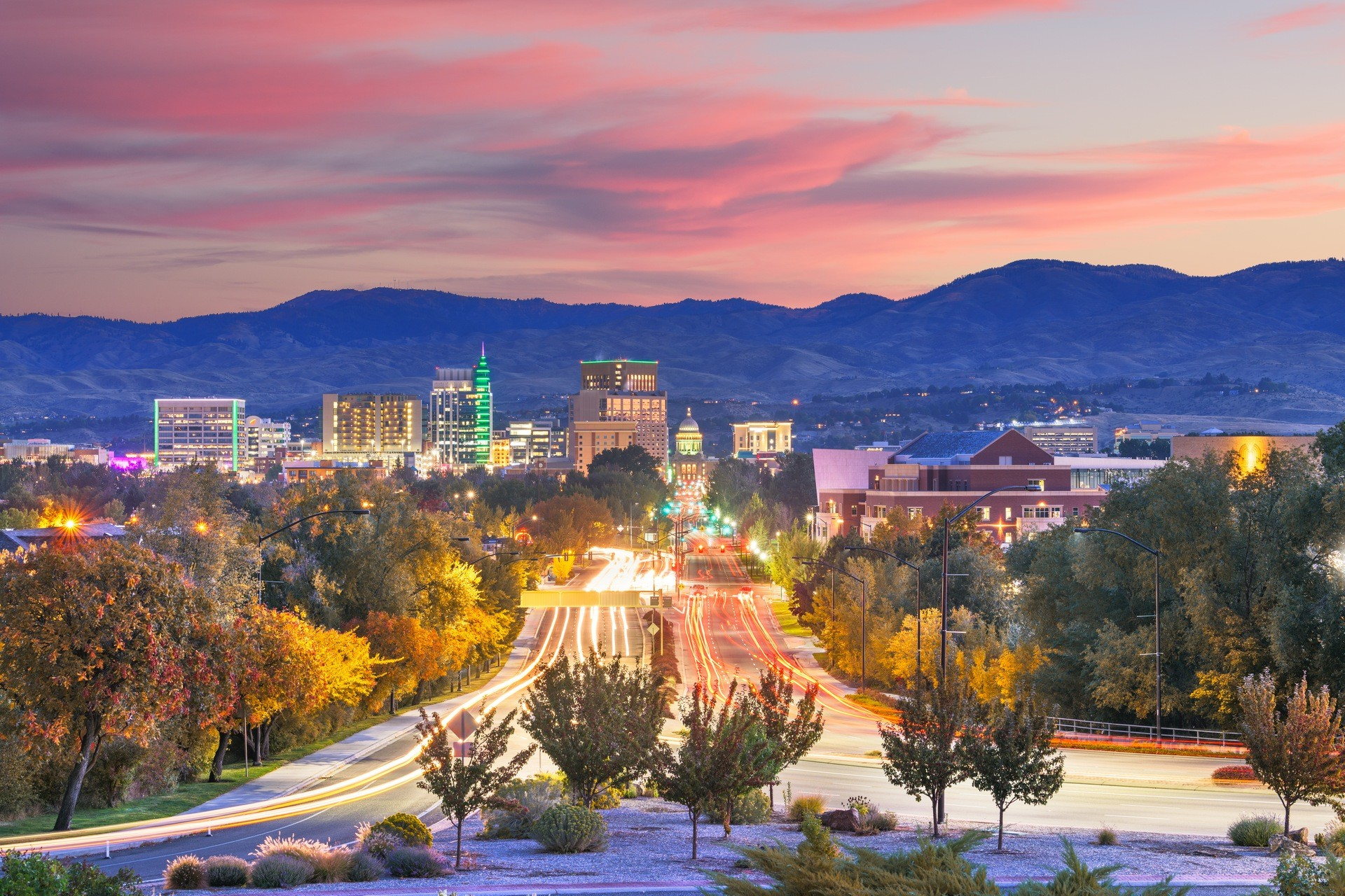 Idaho Private Jet and Air Charter Flights